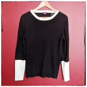 Vince Camuto Color Block Sweater Size XL
